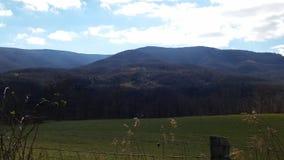 Rolling Hills Peaceful Ridges WV royalty free stock photo