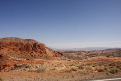 Rolling Hills of Red Rock Royalty Free Stock Photos