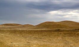 Rolling Hills seca Imagem de Stock