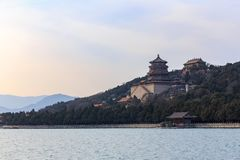 Rolling Hills at Summer Palace royalty free stock images