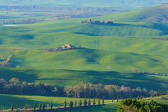 Rolling Hills of Tuscany, Italy Stock Images