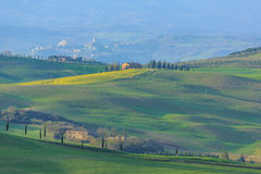 Rolling Hills of Tuscany, Italy Stock Image