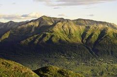 Rolling Hills y valles Imágenes de archivo libres de regalías