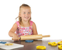 Rolling Kiddie Dough Royalty Free Stock Photo