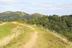 Rolling landscape of malvern hills Stock Image