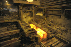 The rolling mill Royalty Free Stock Image