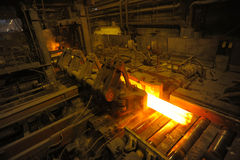 The rolling mill Stock Image