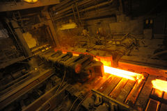 The rolling mill Royalty Free Stock Photos