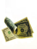 Rolling money Stock Images