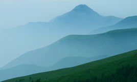 Rolling Mountains. In beijing china Stock Photography