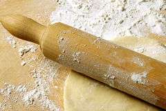 Rolling Pastry Stock Photography