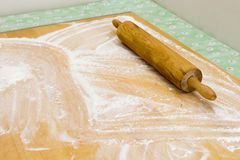 Rolling Pin (Recipe Series) Stock Photos