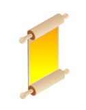 Rolling Pin Scroll Royalty Free Stock Photography