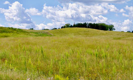 Rolling prairie royalty free stock image