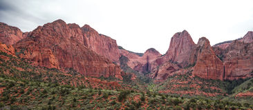 Rolling Red Rock Mountains Royalty Free Stock Photo