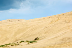 Rolling sand dune stock photography