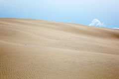 Rolling sand dune Royalty Free Stock Image