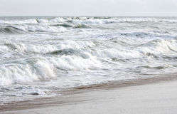 Rolling sea waves in Puri sea beach, Orissa, India Royalty Free Stock Photography