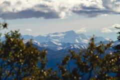 Rolling Sneeuwbergen Alaska Royalty-vrije Stock Afbeeldingen
