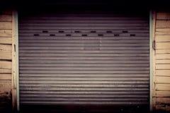 rolling steel door Stock Photos