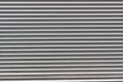 Rolling steel door in gray color royalty free stock images