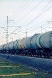 Rolling-stock με τις δεξαμενές πετρελαίου Στοκ εικόνα με δικαίωμα ελεύθερης χρήσης