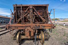 Rolling stock at Nevada Northern Railway Museum, East Ely. Rolling stock bogey at the Nevada Northern Railway Museum, Ely,USA Royalty Free Stock Image