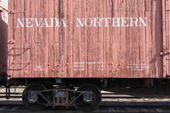 Rolling stock at Nevada Northern Railway Museum, East Ely Stock Photos