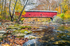 Rolling Stone Covered Bridge Royalty Free Stock Photo