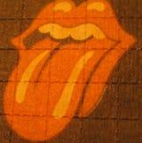 Rolling Stone lsd empapelan el fondo y los papeles pintados macros en impresiones de alta calidad finas estupendas imagen de archivo
