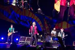 The Rolling Stones au Cuba Photos libres de droits