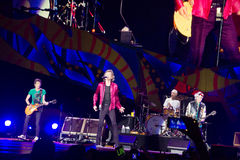 The Rolling Stones in Cuba Royalty Free Stock Photos