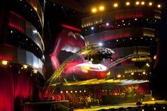 Rolling Stones-Stufe Lizenzfreie Stockfotografie