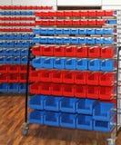Rolling storage cart Royalty Free Stock Image