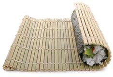 Rolling sushi maki Stock Photo