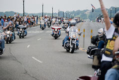 Rolling Thunder 2011, Washington, DC Royalty Free Stock Photography