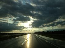 Rolling thunder. Canada scenery landscape royalty free stock images