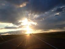 Rolling thunder. Canada scenery landscape royalty free stock image