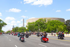 Rolling Thunder motorcycle rally Stock Photography