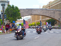 Rolling Thunder Parade. Royalty Free Stock Image