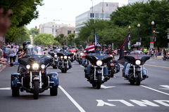 Rolling Thunder ride Stock Images