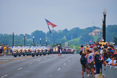 Rolling Thunder, Washington, DC stock images