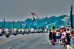 Rolling Thunder, Washington, DC Royalty Free Stock Photography