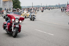 Rolling Thunder, Washington, DC Royalty Free Stock Image