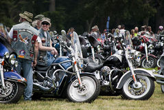 Rolling Thunder, Washington, DC Stock Photography
