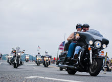 Rolling Thunder, Washington, DC Royalty Free Stock Photos