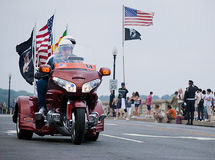 Rolling Thunder, Washington, DC Royalty Free Stock Photo