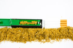 Rolling tobacco Stock Photography