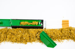 Rolling tobacco Stock Images