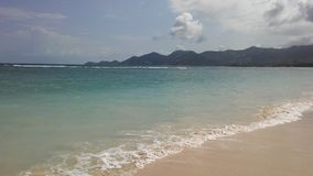 Rolling Waves at Chaweng Beach on Koh Samui Island, Thailand. Royalty Free Stock Photography